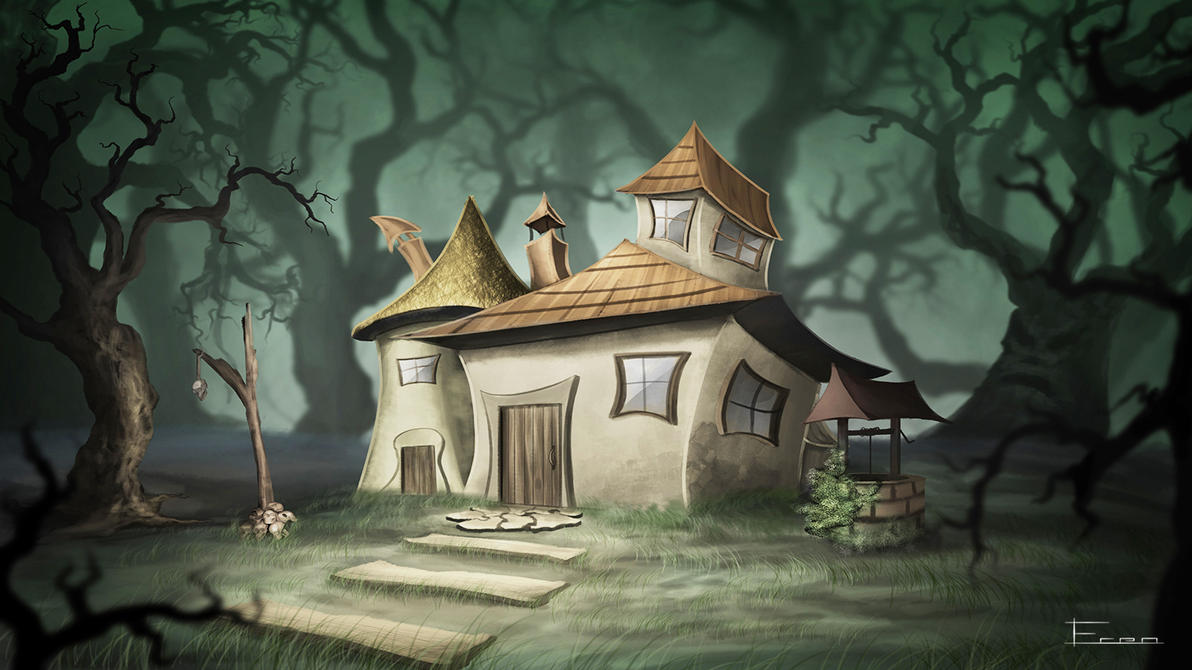 Superb Witch House Concept. By Eren Akinci ...