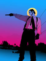 Im like jesus with a gun. by VektorKunst