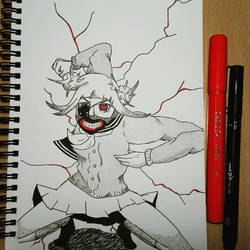 Inktober 2018-Day 14 | Ghoul by ZinaZoo