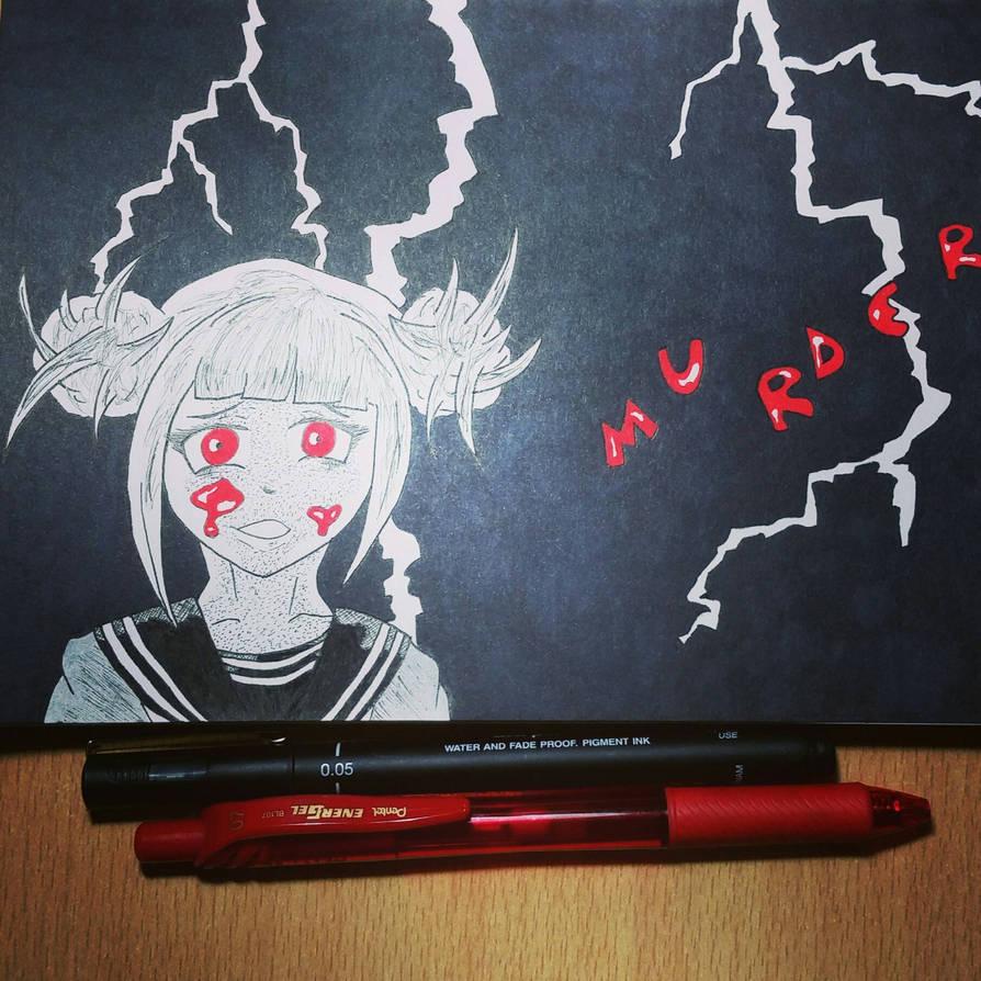 Inktober 2018- Day 20 | Murder by ZinaZoo