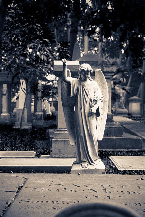 Statue of an Angel by GodwearsFendi