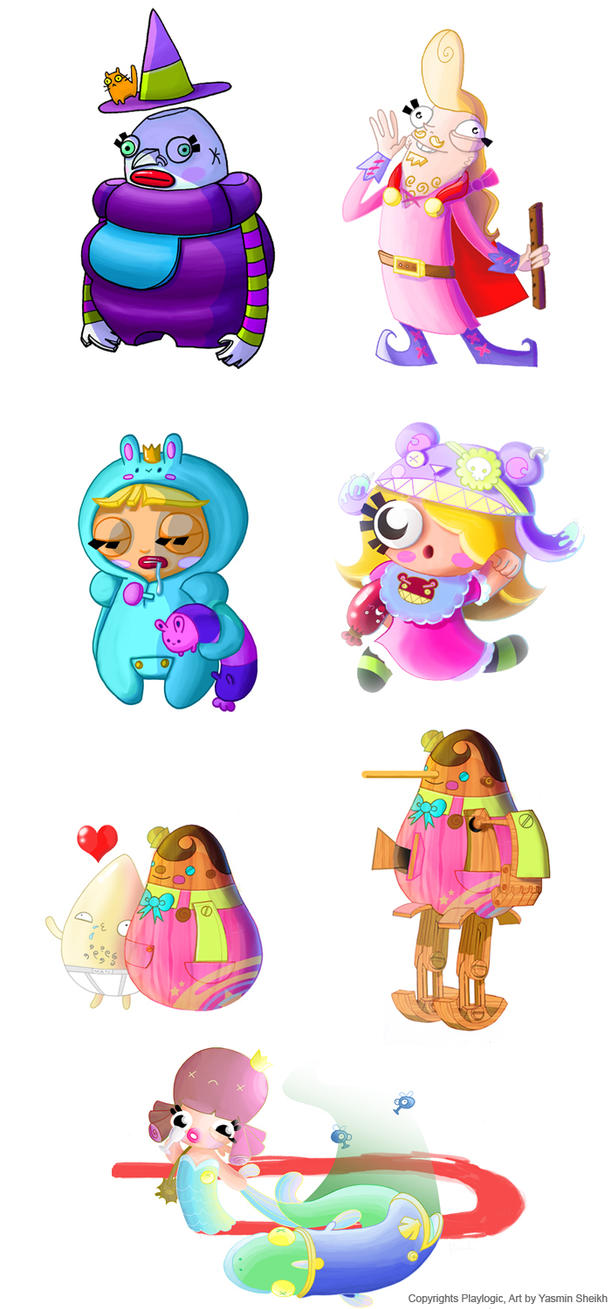 Fairytale Fights Characters By Nerdypoo On DeviantArt