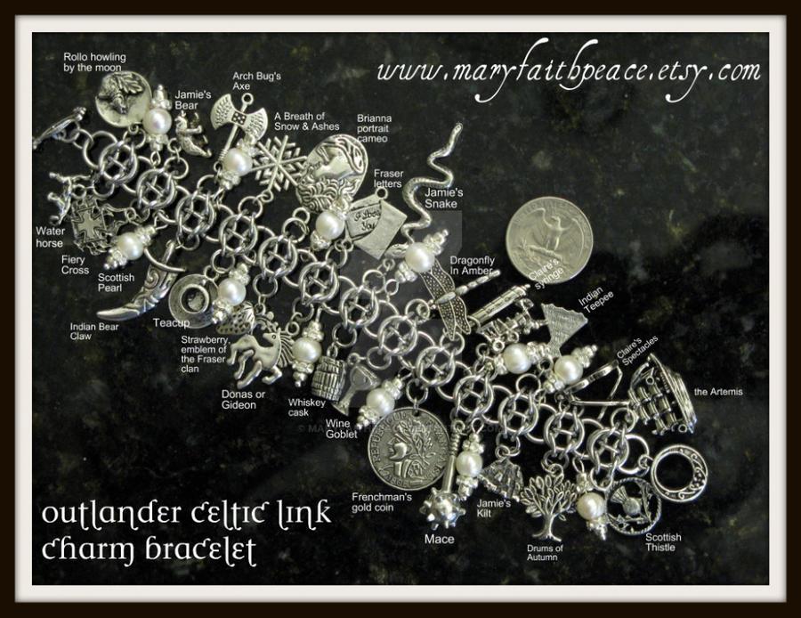 Outlander Charm Bracelet