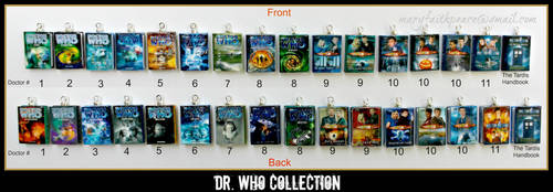 Dr. Who Mini Book Collection by maryfaithpeace