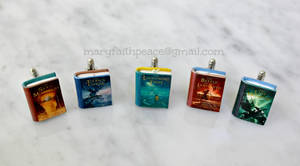 PERCY JACKSON Inspired CUFF LINKS