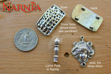 NARNIA Inspired Charms: Newly Added by maryfaithpeace