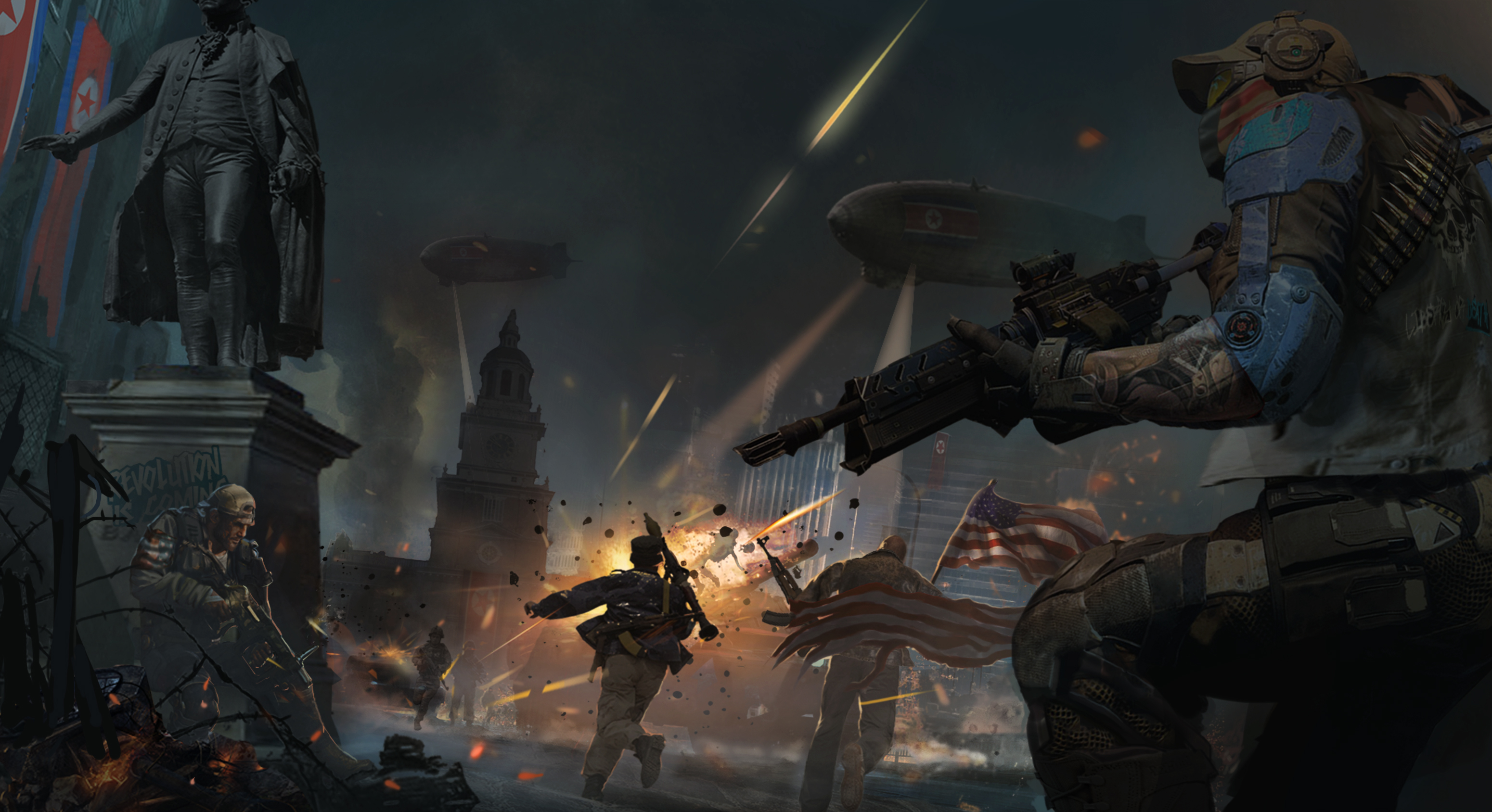 Homefront The Revolution- The day of justice by batevil