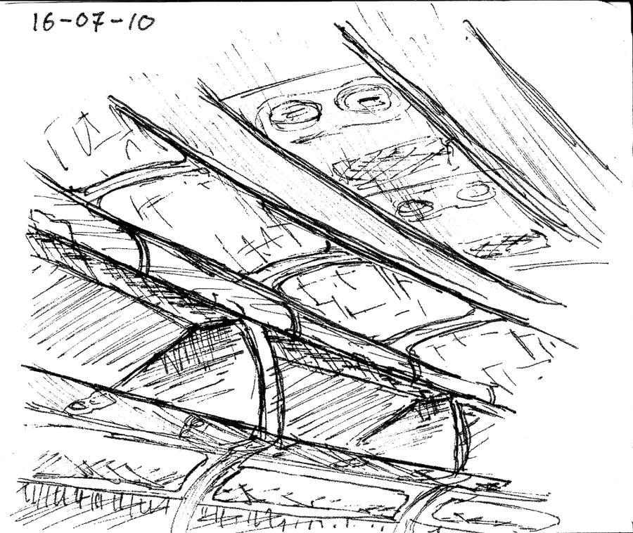 SF sketch log - Plane doodle by kieltje on DeviantArt