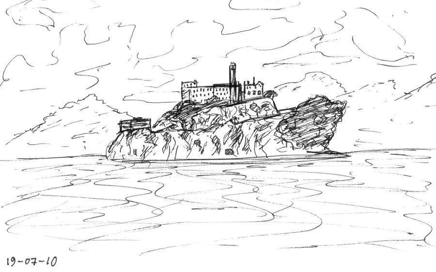 Sf Sketch Log Alcatraz By Kieltje On Deviantart