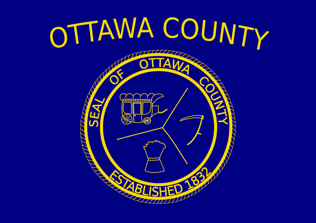 Fictional American County : Flag of Ottawa county by Coliop-Kolchovo