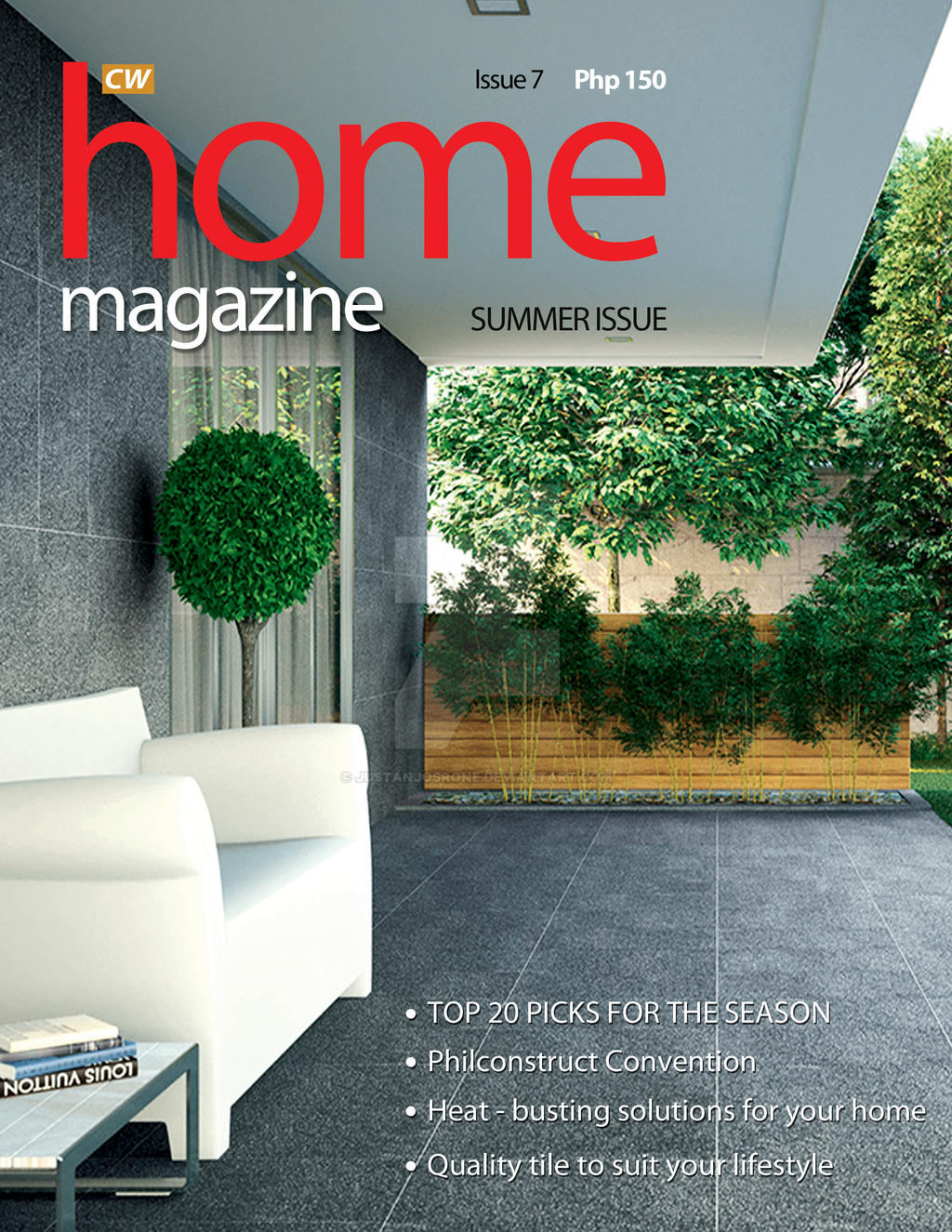 2013 cw home depot magazine cover proposal 02 by justanjosrone on deviantart Cw home depot furnitures