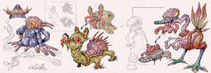 Alien wildlife: Endosymbiont Creatures 1