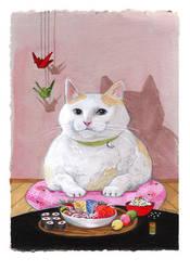 Sushi Cat- Sashimi Kitty by SushiLoversClub