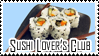 Sushi Lover's Club stamp by SushiLoversClub