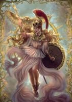 Athena by agnes-green
