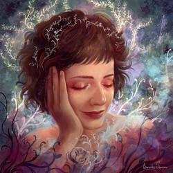 Portrait of Amanda by agnes-green