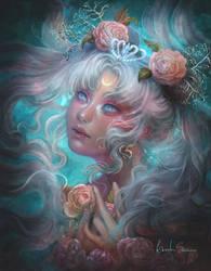 Queen Serenity - Fanart