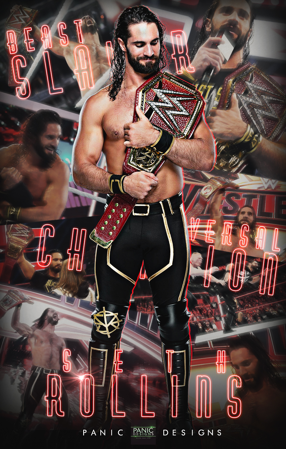 Seth Rollins Universal Champion