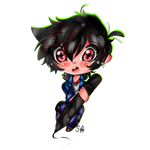 :Chibi Commission: Fleesveon (1/5)