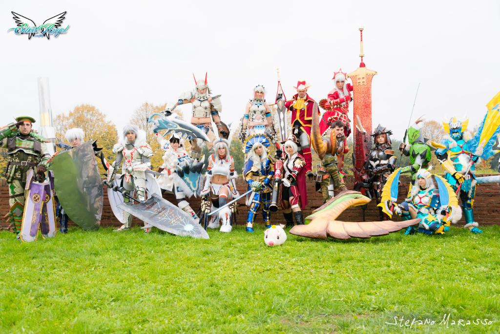 Monster Hunter cosplay - Lucca 2012 by MiciaGlo