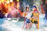 Final Fantasy X-2 Yuna Rikku