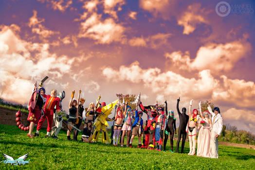 Tengen Toppa Gurren Lagann cosplay group