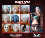 TUTORIAL - Jason's Mask by MiciaGlo