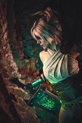 Riven Awaken cosplay from League of Legends