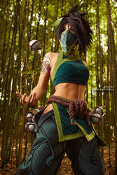 Akali Cosplay from League of Legends