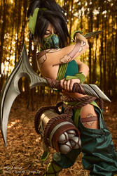 Steel and Skill - Akali League of Legends