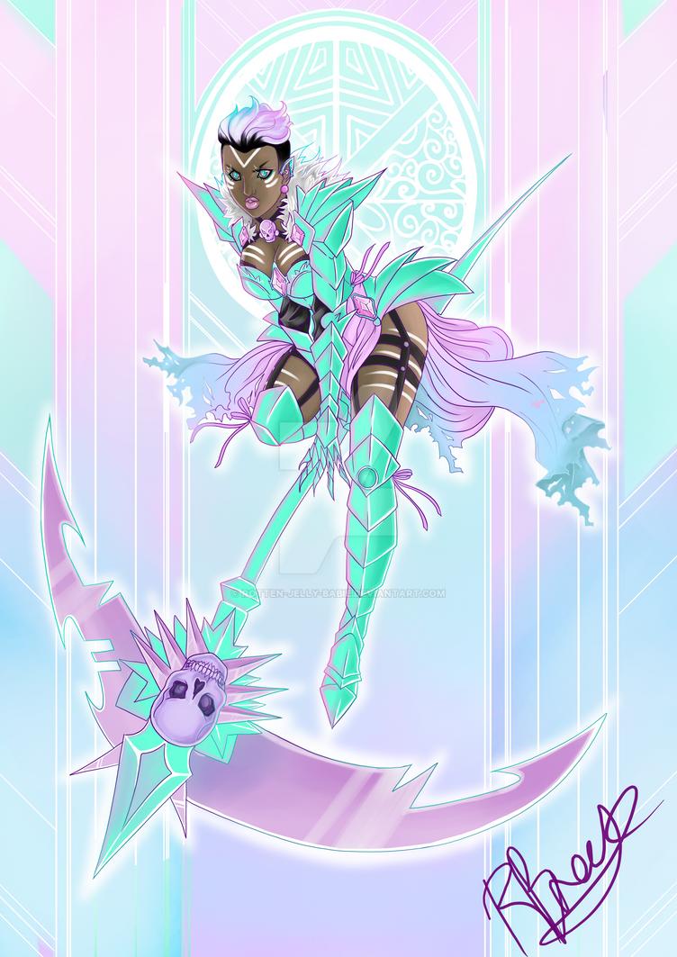 Kawaii Warrior by rotten-jelly-babie
