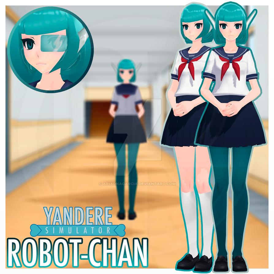 [MMDxYS] TDA Robot-chan by AriadnaGarcia