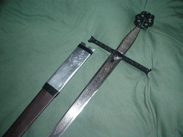 Sword with Handle Beige Dildo on SexToycom