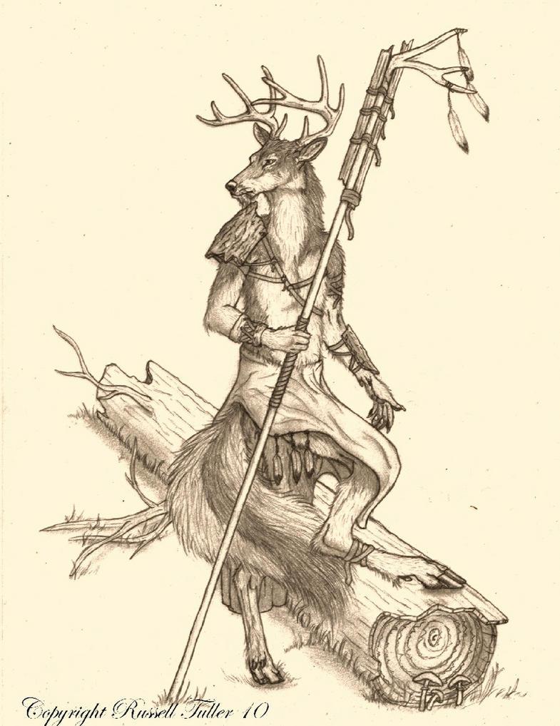 Woleer Druid by RussellTuller