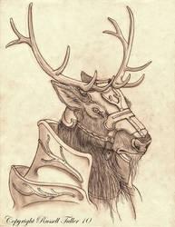 Elk Knight by RussellTuller