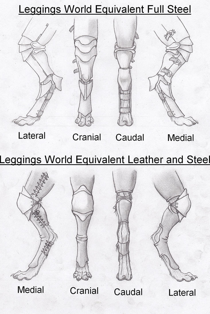 Digitigrade Leg Armor Concepts by RussellTuller on DeviantArt