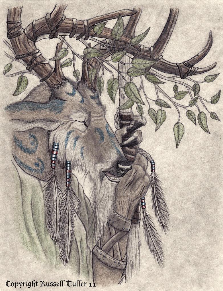 The Village Elder by RussellTuller