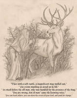 { The Old Man and the Doe } Illustration 3 by RussellTuller