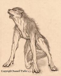 The Werewolf by RussellTuller