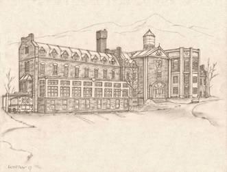 Old Sanatorium by RussellTuller