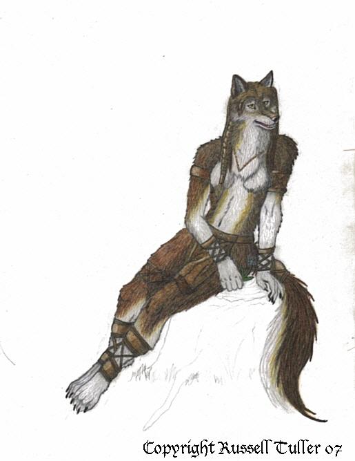 Anthro Wolf Female Female wolf anthro in progress