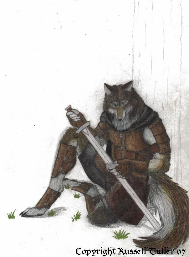 Wolf Anthro Ranger By Russelltuller On Deviantart