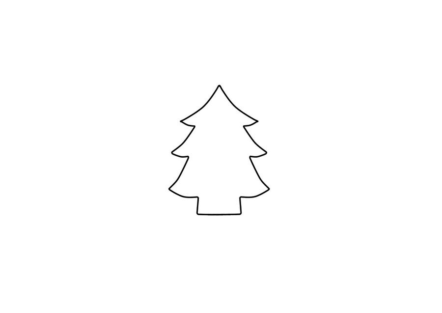 Christmas Tree Template Christmas Tree Plush Template