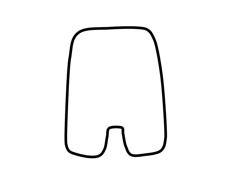 Domo Plush Template by Tammyyy