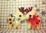 Reindeer Plushies