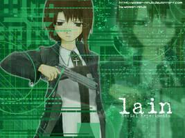 Lain Green by Kaiser-Ninja