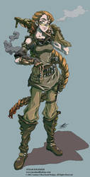 Steam Engineer - Character Art by Quasimanga