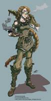 Steam Engineer - Character Art