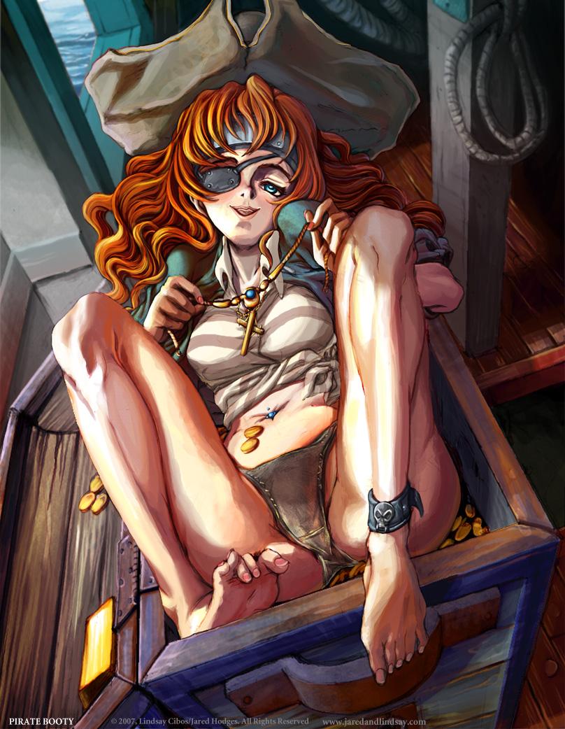 Pirate Booty by Quasimanga