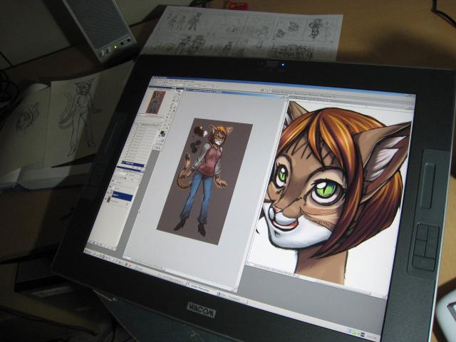 Desktop010 - My Life in Furry by Quasimanga